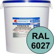 Краска интерьерная для стен бирюзовая RAL 6027 ВДАК-202 ECON - евробак 45 кг