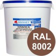 Краска интерьерная для стен коричневая RAL 8002 ВДАК-202 ECON - евробак 42 кг