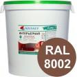 Краска интерьерная для стен коричневая RAL 8002 ВДАК-202 EURO - евробак 42 кг