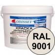 Краска интерьерная для стен кремовая RAL 9001 ВДАК-202 ECON - ведро 15 кг