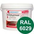 Краска интерьерная для стен мятная RAL 6029 ВДАК-202 PREMIUM - ведро 14 кг