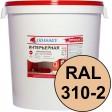 Краска интерьерная для стен персиковая RAL 310-2 ВДАК-202 PREMIUM - евробак 45 кг