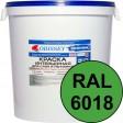 Краска интерьерная для стен салатовая RAL 6018 ВДАК-202 ECON - евробак 42 кг