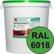 Краска интерьерная для стен салатовая RAL 6018 ВДАК-202 EURO - евробак 42 кг