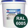 Краска интерьерная для стен темно-зеленая RAL 6005 ВДАК-202 ECON - евробак 42 кг