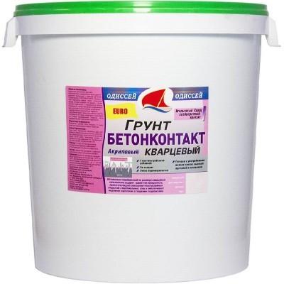 Грунт Бетоноконтакт EURO для фасадных и внутренних работ