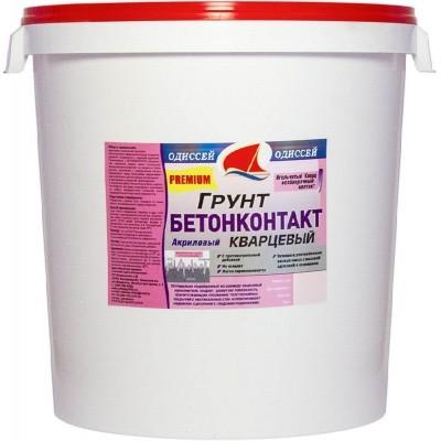 Грунтовка Бетоноконтакт Premium глубокого проникновения для фасадных и внутренних работ