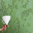 Декоративная микрофактурная штукатурка негорючая КМ0 (Шагрень, Американка, Карта мира) для механизированного нанесения