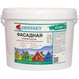 Фасадная краска снежно-белая ВДАК-105 EURO - 15 кг