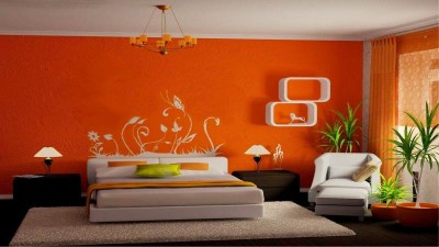 Как выбрать краску для стен в квартире + подборка цветов для интерьера