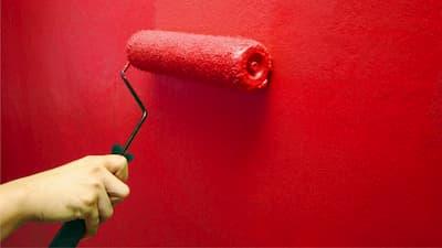 Как и чем покрасить бетонную стену