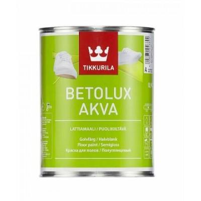 TIKKURILA BETOLUX AKVA - база А - 0,9 литра