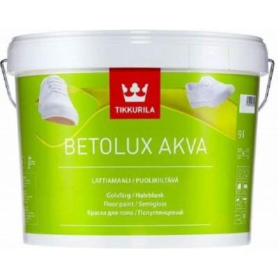 TIKKURILA BETOLUX AKVA - база С - 9 литров