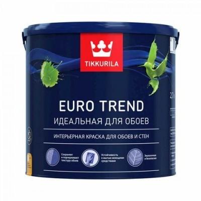 TIKKURILA EURO TREND | ТИККУРИЛА ЕВРО ТРЕНД - база А - 2,7 литра