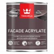 TIKKURILA FACADE ACRYLATE - База А - 0,9 литра