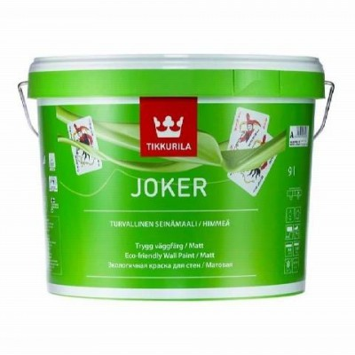 TIKKURILA JOKER | ТИККУРИЛА ДЖОКЕР - база А - 9 литров