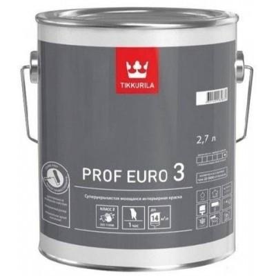TIKKURILA PROF EURO 3 - база А - 2,7 литра