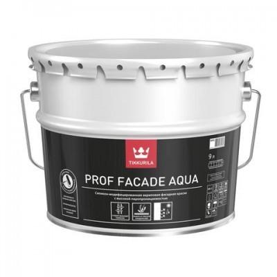 Prof Facade Aqua - cиликономодифицированная фасадная краска