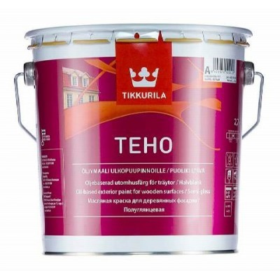 TIKKURILA TEHO | ТИККУРИДА ТЕХО - база А - 2,7 литра
