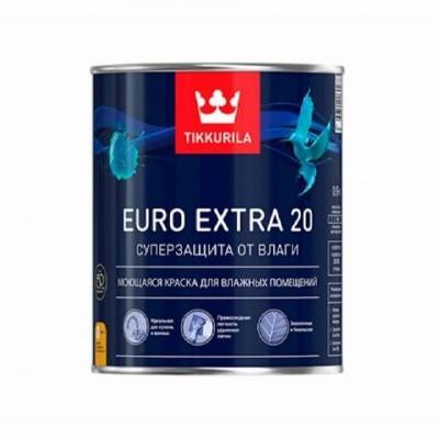 TIKKURILA EURO EXTRA 20 | ТИККУРИЛА ЕВРО ЭКСТРА 20 - база А - 0,9 литра