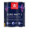 TIKKURILA EURO MATT 3 - база А - 0,9 литра