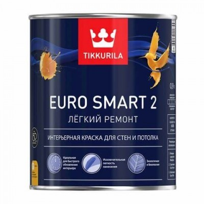 TIKKURILA EURO SMART 2 - база А - 0,9 литра