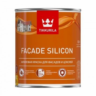 TIKKURILA FACADE SILICON | ТИККУРИЛА ФАСАД СИЛИКОН - база С - 2,7 литра