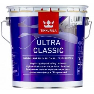 TIKKURILA ULTRA CLASSIC - база С - 2,7 литра