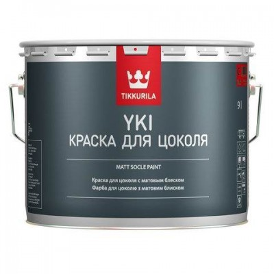 TIKKURILA ЮКИ - краска для цоколей и фасадов